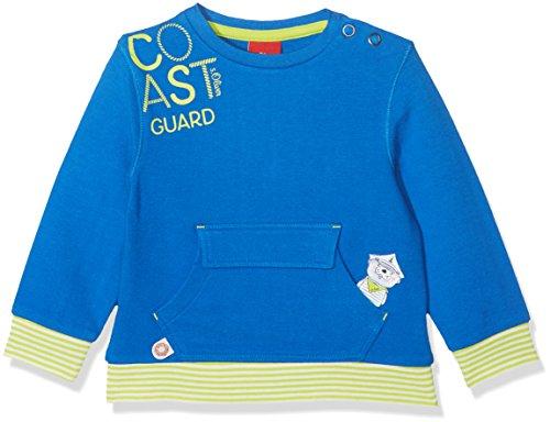 s.Oliver Baby-Jungen Sweatshirt 65.802.41.4732 Blau (Blue 5526) 62