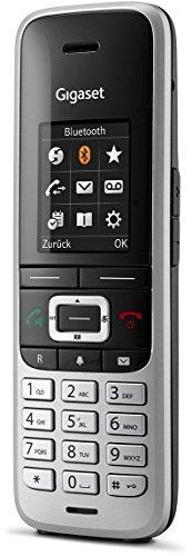 Gigaset S850HX Telefon - Schnurlostelefon / Universal Mobilteil - mit Farbdisplay - Dect-Telefon -  schnurloses Telefon - VoIP - Router - kompatibel -  platin - 4