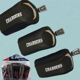 San Diego Chargers NFL Tri Pack Mesh Headcover