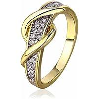 Mes-Bijoux-Bracelets Bague d anniversaire Doré Or Jaune 750 000 18ct f9126ef7de17