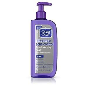 Clean & Clear Advantage Acne Control 3-in-1 Foaming Wash 8 fl oz