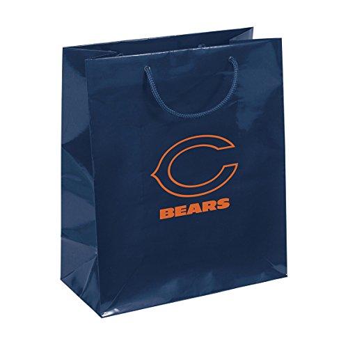 NFL Chicago Bears Geschenk Tasche, Marineblau/Orange, One Size (Fußball-fanatiker Store)