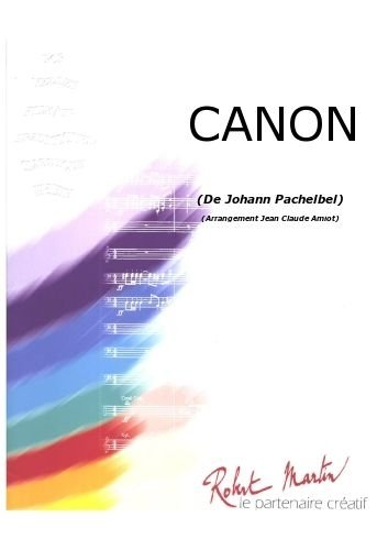 PARTITIONS CLASSIQUE ROBERT MARTIN PACHELBEL J    AMIOT J C    CANON ENSEMBLE VENTS