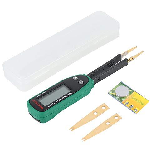 Intelligente SMD Tester RC Widerstand Kapazität Dioden-Meter-Multimeter LCD-Anzeige Tweezers Auto Scannen Auto Ranging