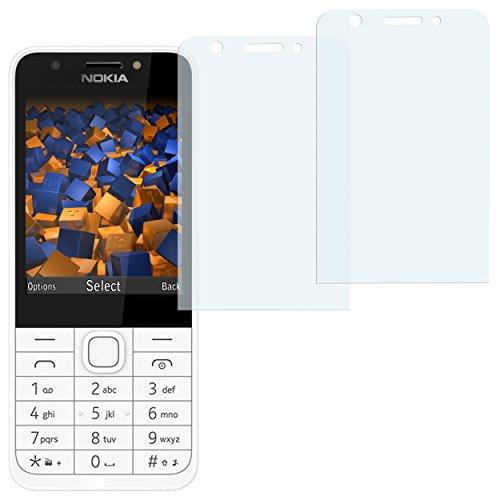 mumbi Schutzfolie kompatibel mit Nokia 230 Folie klar, Bildschirmschutzfolie (2x)