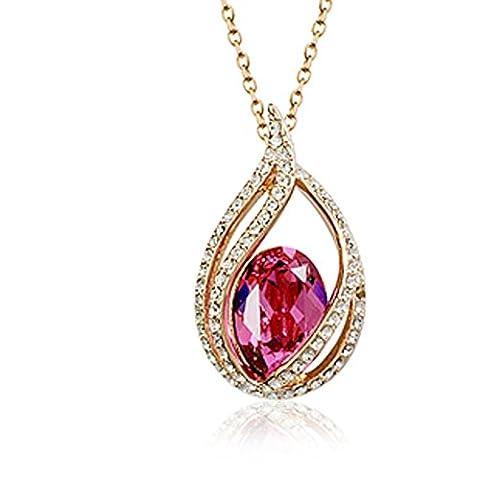 Dames collier Bijoux/short chain clavicule/Coréen collier Qu'angel tears-A