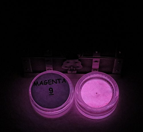 Dark Pigment Puder. Am längsten Glow in the Dark Puder. Empfohlen für alle farblos Medium. Tinte. PAINT. Kunststoff Kunstharz. Glas. etc. 1/2 Ounce magenta ()