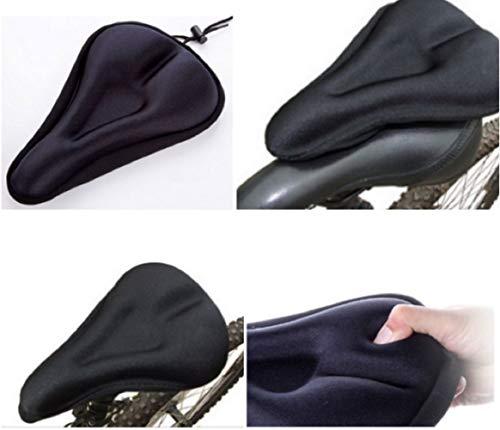 HDMI SM Cubierta de sillín de Bicicleta Cubierta de sillín Cubierta de cojín de Asiento de Bicicleta y para Hombre