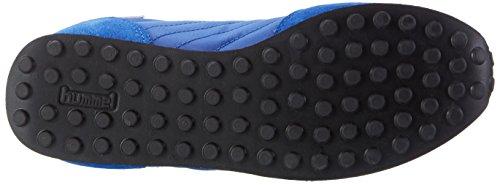 Hummel Seventyone Tonal, Scarpe da Ginnastica Basse Unisex-Adulto Blu (Imperial Blue)