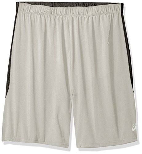 ASICS herren   Shorts  -  grau -  (Athletic Shorts Asics)