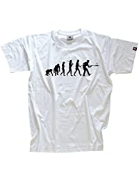GOLD Edition Bäcker Bäckerei Backstube Backen Evolution T-Shirt S-XXXL