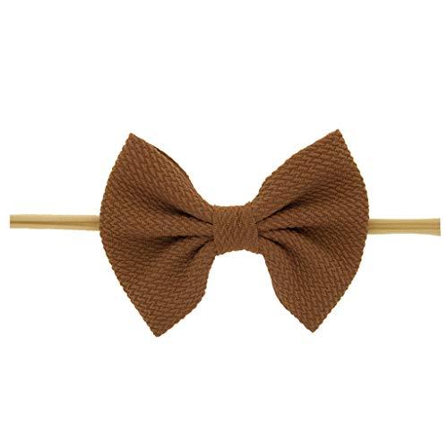 Fußball Braun Perlen Halskette - Cuteelf Mehrfarbig Kopfband Haarspange Kinder elastische