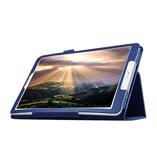 Hzssec PU Slim Smart Cover Folio case per Samsung Tab e sm-t560/T56124,4cm tablet, con supporto e porta penne - Zebra Porta Penne