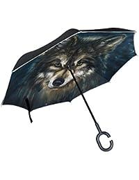 Regenschirm Blätter Baumkrone Transparent Stockschirm Durchsichtig