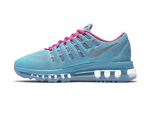 Nike Bambina Air Max 2016 (GS) Scarpe Running Blu (Azul (Azul (Gmm Bl / Rflct Slvr-Blk-Ghst Grn)))