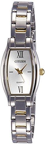 Citizen Analog White Dial Women's Watch - EJ6114-57A