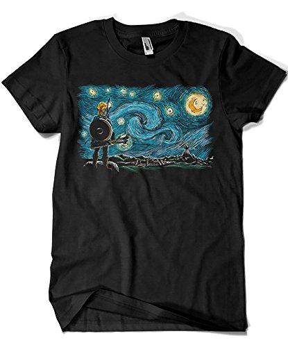 Camisetas La Colmena Herren T-Shirt schwarz Schwarz S - Juegos De Mario Bros