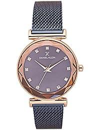 Daniel Klein Analog Blue Dial Women's Watch - DK11404-4