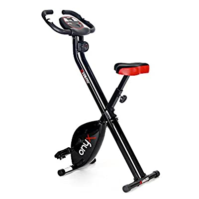 Viavito Onyx Folding Exercise Bike - Black by Viavito