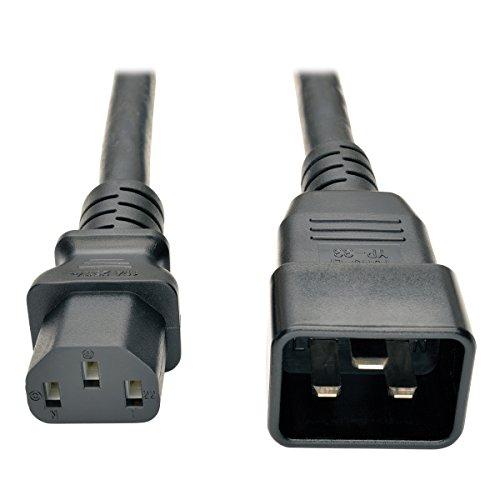 Tripp Lite schwere Blei-/Netzkabel für PDU, 15A, 12Awg (iec-320- C13auf iec-320-c20), 2.13m/7-ft -