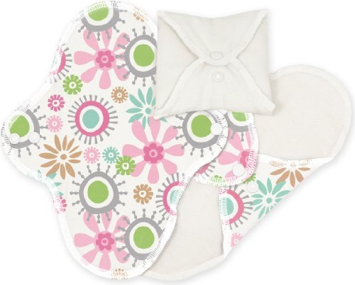 Imse Vimse Sanitary Pads (Panty Liner, Flowers) by ImseVimse