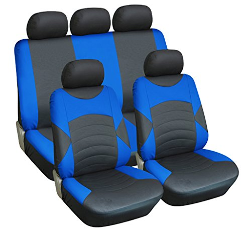 infiniti-fx-09-on-full-set-luxury-leather-look-seat-covers-front-rear-black-blue