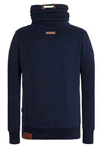 Naketano Male Sweatshirt Banane oder Gurke? III Dark Blue