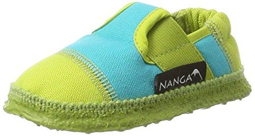 Nanga Unisex-Kinder Klette 06 Hausschuhe, Gelb (Limette), 37 EU