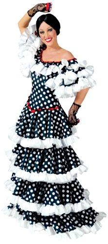 Spanierin Sofia Kostüm Damen Gr. 36 (Kostüm Flamenco Tänzerin Kostüm)