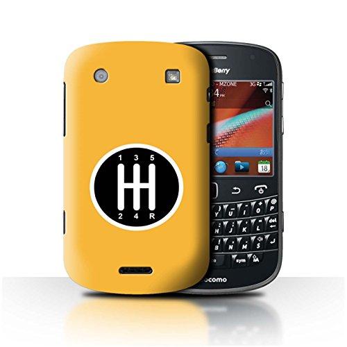 Stuff4® Hülle/Case für BlackBerry Bold 9900 / Getriebe/Schaltung Muster/Straßenrennen Kollektion -