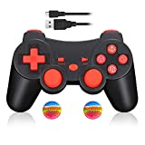 Mando Inalámbrico Bluetooth Controller Doble Vibración para Sony PS3...