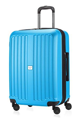 Hauptstadtkoffer - X Berg Hartschale Koffer Trolley 65 cm, 89 Liter, Cyanblau