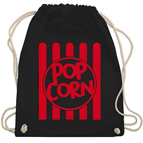 Karneval & Fasching - Popcorn Karneval Kostüm - Unisize - Schwarz - WM110 - Turnbeutel & Gym Bag