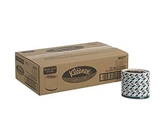 Kleenex 8826 Mouchoir Boîtes Ovales 10 Boîtes de 64 Mouchoirs Blanc