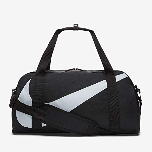 Nike Kinder Y NK Gym Club Bag, Black/Wolf Grey, 45 Centimeters