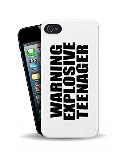 IP5Avertissement Explosive Teenager-208-3D Coque téléphone portable