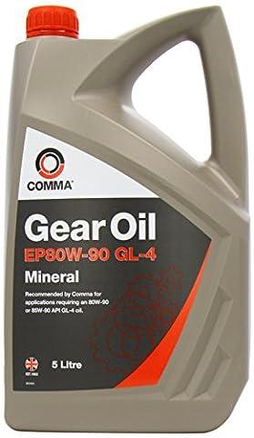 Comma GO45L 5L EP80W90 GL4 Gear