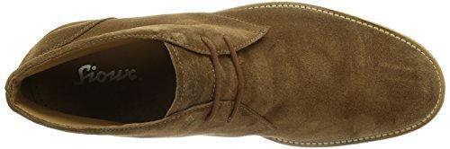 Sioux 28580, Scarpa tipo Chukka Uomo Marrone (Braun (bark))