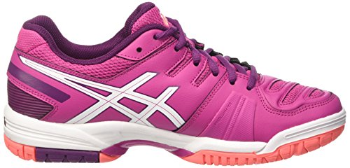 ASICS Gel-game 5 - Scarpe da Tennis Donna, Bianco (white/blue Mirage/pool Blue 0162), 38 EU Rosa (berry/white/plum 2101)