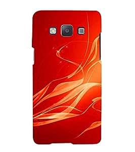 Fuson Designer Back Case Cover for Samsung Galaxy A7 (2015) :: Samsung Galaxy A7 Duos (2015) :: Samsung Galaxy A7 A700F A700Fd A700K/A700S/A700L A7000 A7009 A700H A700Yd (Fire Fumes Blaze Flames COmbustion)