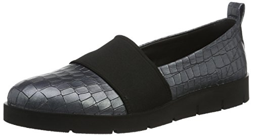 Bella Loafer (Ecco Damen Bella Slipper, Grau (1244titanium), 38 EU)