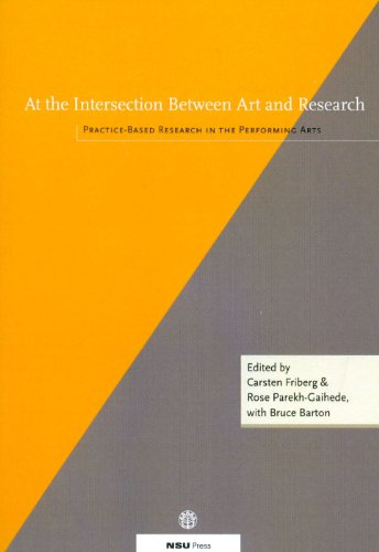 At the Intersection Between Art and Research: Practice-Based Research in the Performing Arts (Bühne Carsten)