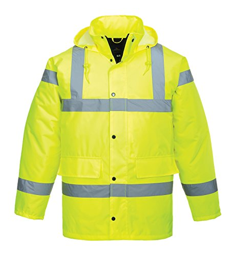 Portwest S460YERXL Hivis-Traffic Jacke, gelb, XL