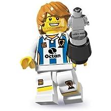 LEGO Minifiguras Coleccionables: Futbolista Minifigura (Serie 4)