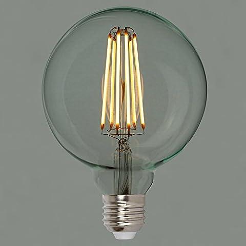 Dimmable Vintage LED Edison Light Bulb 6w (60w) - Squirrel Cage Globe 95mm ES E27 - The Retro Boutique ®