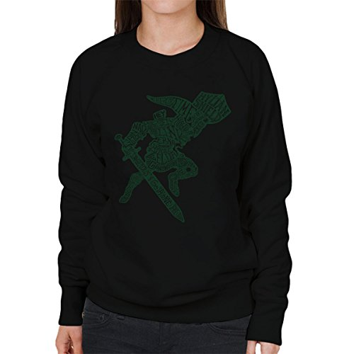 CaLinkraphy Legend Of Zelda Women's Sweatshirt Black