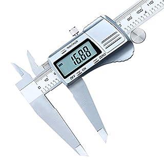 QWDEWFDEW Vernier Calliper Industrial Grade 12-Inch 300Mm Stainless Steel Electronic Digital Vernier Caliper Micrometer Measuring Tools