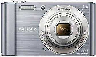 Sony DSC-W810S Appareil Photo Numérique Compact, 20,1 Mpix, Zoom Optique 6x- Argent