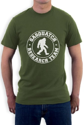 SASQUATCH RESEARCH TEAM T-Shirt Olivgrün