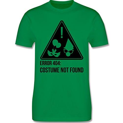 Karneval & Fasching - Error 404: Costume not found - Herren Premium T-Shirt Grün